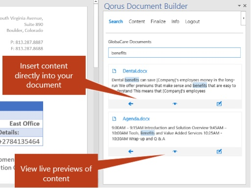 IMG_3034 Build proposals more efficiently and accurately with Qorus Document Builder