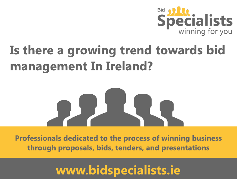 Is there a growing trend towards bid management In Ireland?